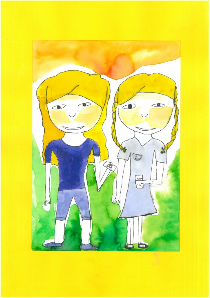 vítěz - Štiťáková Anna, 9 let
