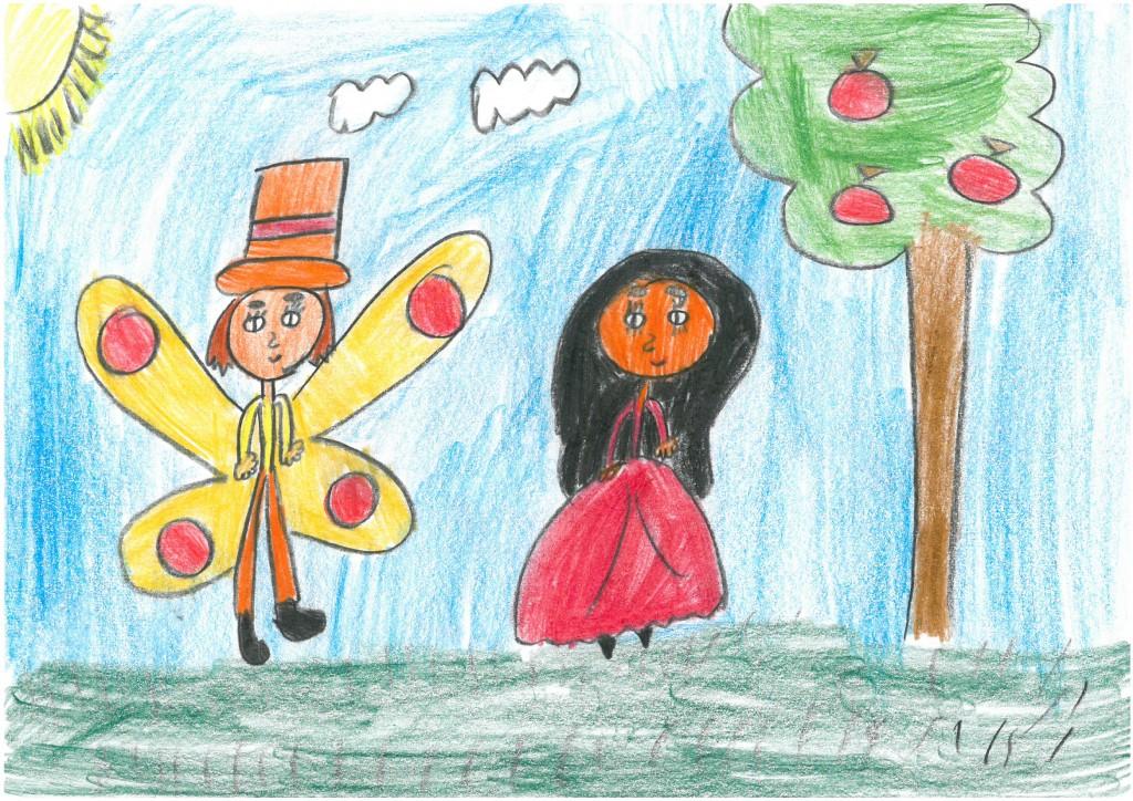 vítěz - Šturzová Angelina, 9 let