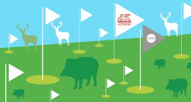 Golf a <span> zvěřinové hodování</span>